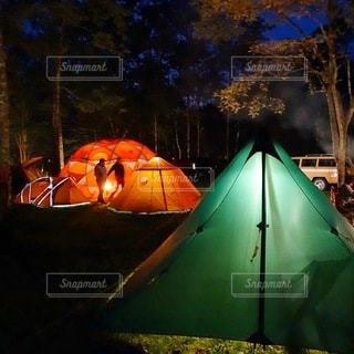 キャンプの写真・画像素材[6866]