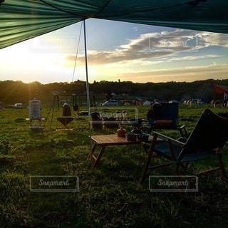 キャンプの写真・画像素材[6880]