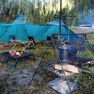 キャンプの写真・画像素材[6918]