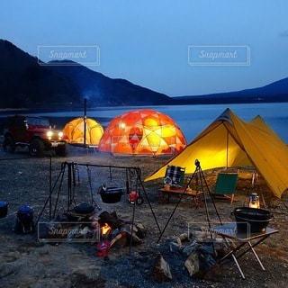 キャンプの写真・画像素材[6922]