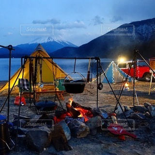 キャンプの写真・画像素材[6923]