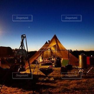キャンプの写真・画像素材[6958]