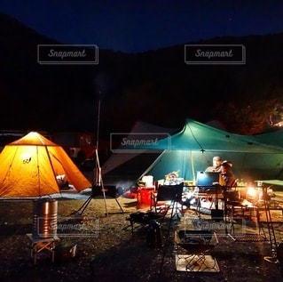 キャンプの写真・画像素材[6974]