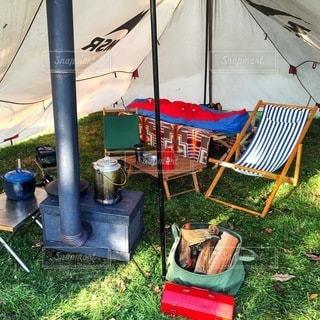 キャンプの写真・画像素材[6980]