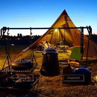 キャンプの写真・画像素材[6992]