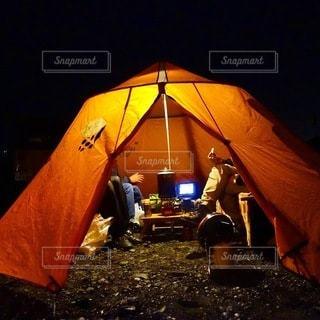 キャンプの写真・画像素材[7028]