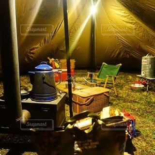 キャンプの写真・画像素材[7058]