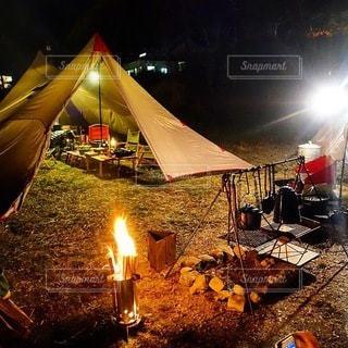 キャンプの写真・画像素材[7075]