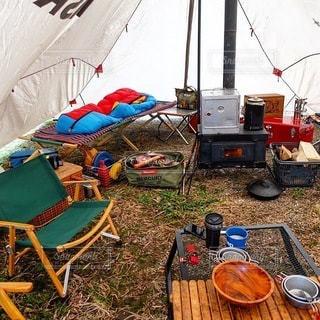 キャンプの写真・画像素材[7078]