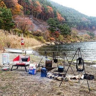 キャンプの写真・画像素材[7100]