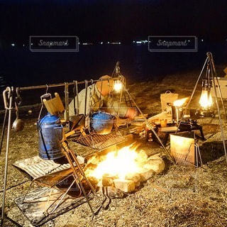 キャンプの写真・画像素材[7112]