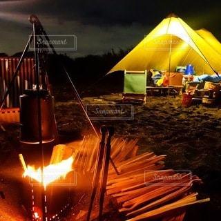 キャンプの写真・画像素材[7160]