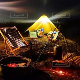 キャンプの写真・画像素材[7165]