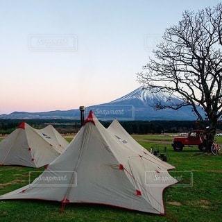 キャンプの写真・画像素材[7188]