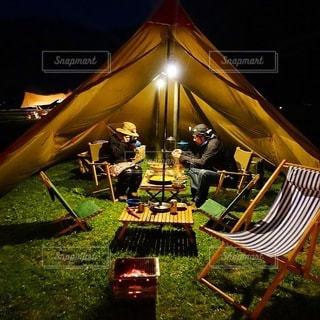 キャンプの写真・画像素材[7220]