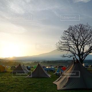 キャンプの写真・画像素材[7234]