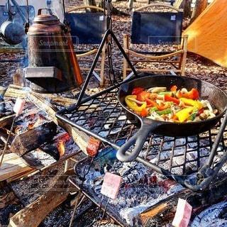 キャンプの写真・画像素材[7240]