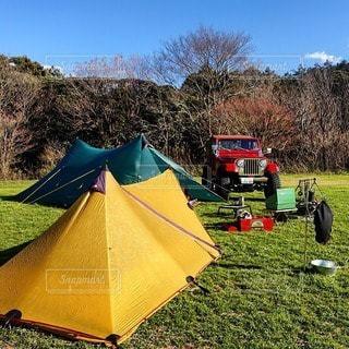 キャンプの写真・画像素材[7274]