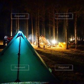 キャンプの写真・画像素材[7331]