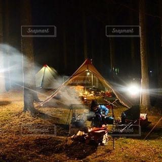 キャンプの写真・画像素材[7333]
