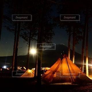 キャンプの写真・画像素材[7337]