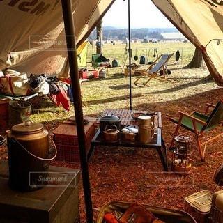 キャンプの写真・画像素材[7374]