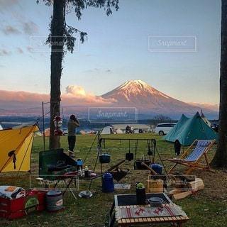 キャンプの写真・画像素材[7423]