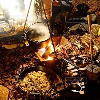 キャンプの写真・画像素材[7431]