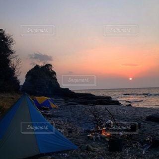 キャンプの写真・画像素材[7472]