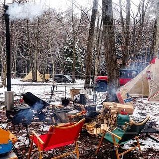 キャンプの写真・画像素材[7483]