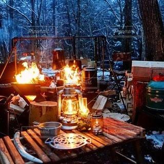 キャンプの写真・画像素材[7487]