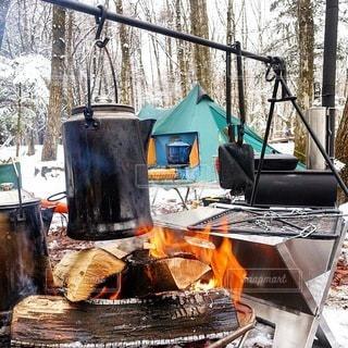 キャンプの写真・画像素材[7505]