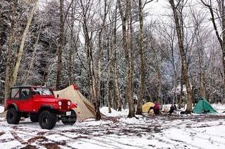 キャンプの写真・画像素材[7518]