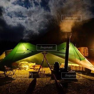 キャンプの写真・画像素材[7521]