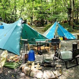 キャンプの写真・画像素材[7529]