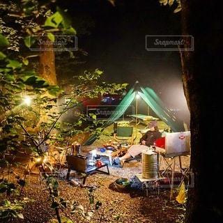 キャンプの写真・画像素材[7556]