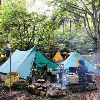 キャンプの写真・画像素材[7559]
