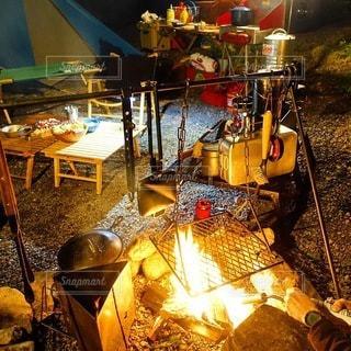 キャンプの写真・画像素材[7569]