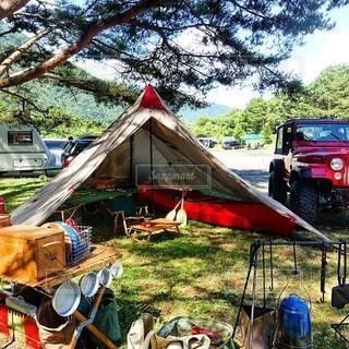キャンプの写真・画像素材[7576]