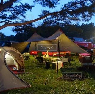 キャンプの写真・画像素材[7581]