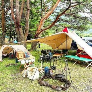 キャンプの写真・画像素材[7605]