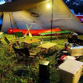 キャンプの写真・画像素材[7609]