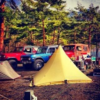 キャンプの写真・画像素材[7669]