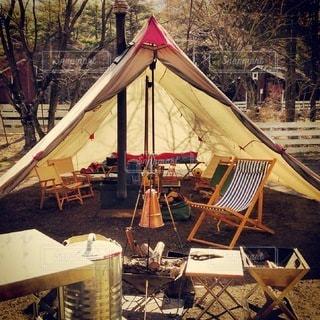 キャンプの写真・画像素材[7670]
