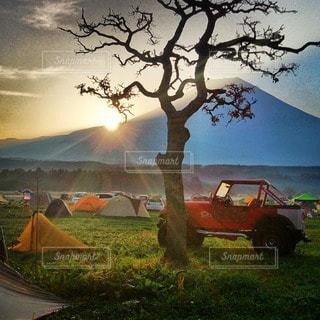キャンプの写真・画像素材[7710]