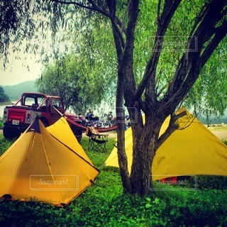 キャンプの写真・画像素材[7713]
