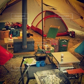 キャンプの写真・画像素材[7714]