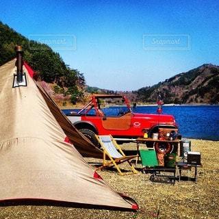 キャンプの写真・画像素材[7723]