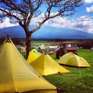 キャンプの写真・画像素材[7730]
