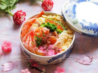 ひな祭りの海鮮ちらし寿司の写真・画像素材[1030632]
